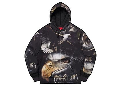 Supreme Eagle Hooded Work Jacket Purple/Black (SS21)の写真