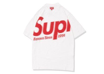 Supreme Intarsia Spellout S/S Top White (SS21)の写真