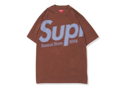 Supreme Intarsia Spellout S/S Top Brown (SS21)の写真