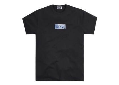 Kith Windshield Classic Logo Tee Blackの写真