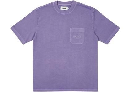 Palace London Heavy Pocket T-Shirt Purple (SS21)の写真
