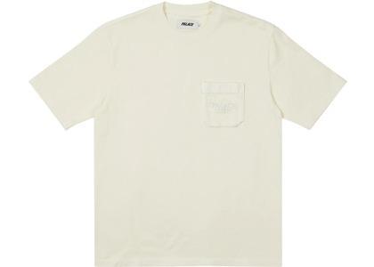 Palace London Heavy Pocket T-Shirt Stone (SS21)の写真