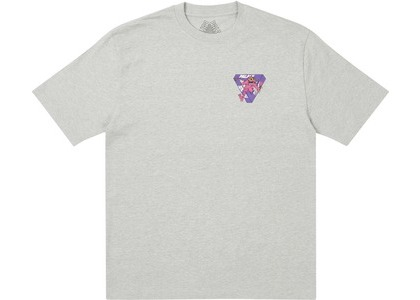 Palace M-Zone Mutant Ripper T-Shirt Grey Marl (SS21)の写真
