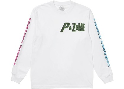 Palace M-Zone Mutant Stomp Longsleeve White (SS21)の写真
