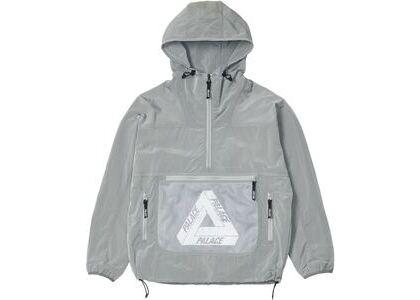 Palace Mesh Pocket Shell Jacket Grey (SS21)の写真
