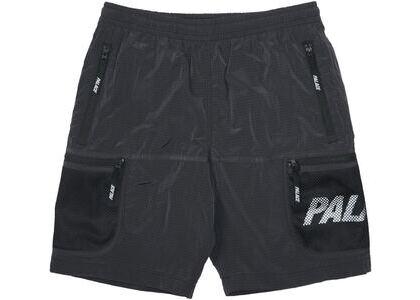Palace Mesh Pocket Shell Shorts Black (SS21)の写真