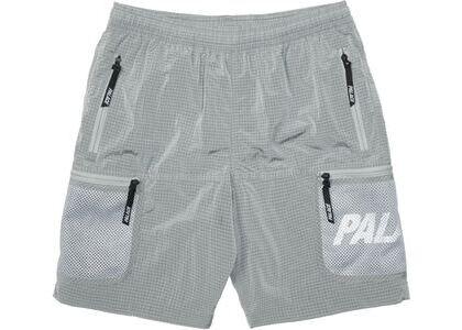Palace Mesh Pocket Shell Shorts Grey (SS21)の写真