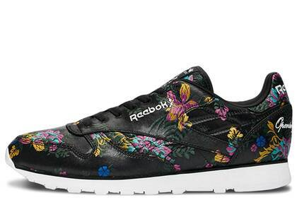 Reebok Classic Leather Opening Ceremony Floral Satin Blackの写真