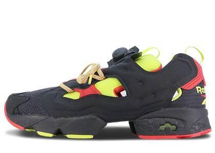 Reebok Instapump Fury Packer Shoes OG Division Blackの写真
