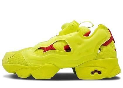 Reebok Instapump Fury Packer Shoes OG Division Hyper Greenの写真