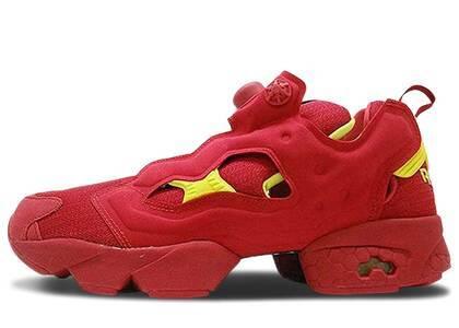 Reebok Instapump Fury Packer Shoes OG Division Redの写真