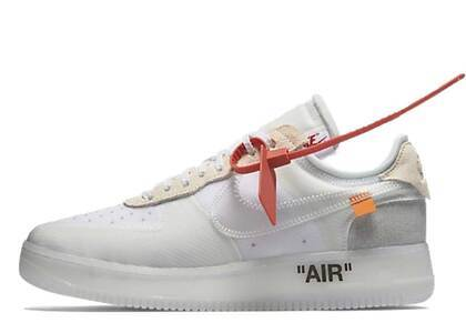 Off-White × Nike Air Force 1 Low の写真