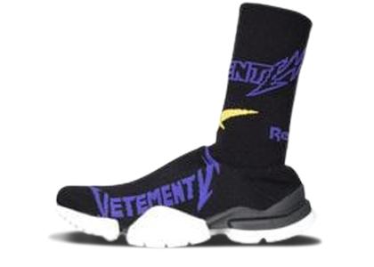Reebok Sock Runner Vetements Black Yellow Purpleの写真