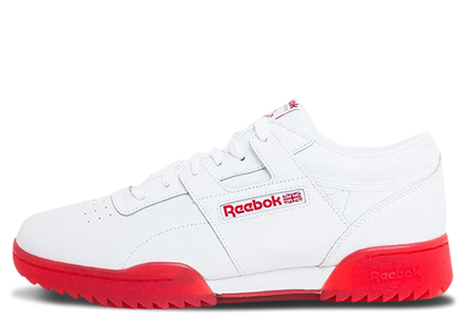 Reebok Workout Clean Ripple Ice White Redの写真