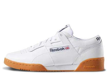 Reebok Workout Low White Gumの写真