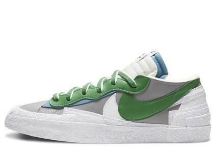 Sacai × Nike Blazer Low Grey Greenの写真