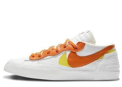 Sacai × Nike Blazer Low Orange Whiteの写真