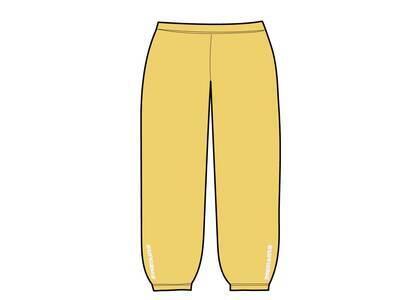 Supreme Warm Up Pant Yellow (SS21)の写真