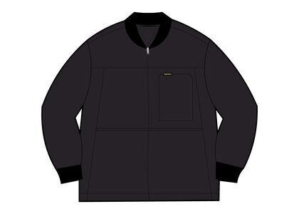 Supreme Reversible Tech Work Jacket Black (SS21)の写真