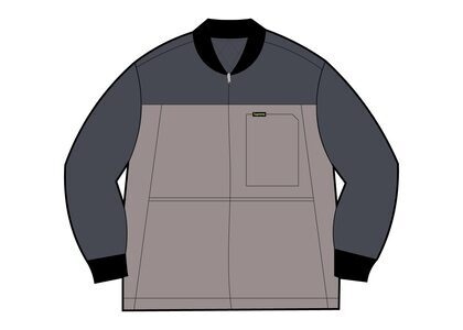 Supreme Reversible Tech Work Jacket Grey (SS21)の写真