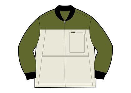 Supreme Reversible Tech Work Jacket Olive (SS21)の写真