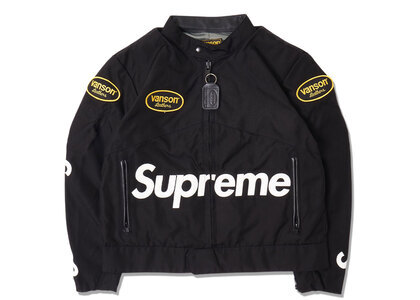 Supreme Vanson Leathers Cordura Jacket Black (SS21)の写真