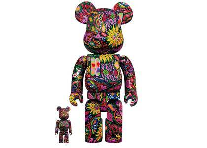 Be@rbrick Psychedelic Paisley 100% & 400%の写真
