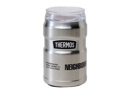 Neighborhood Thermos / S Can Holder Silverの写真