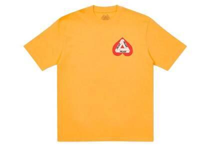 Palace Hearty T Shirt Orange (SS21)の写真
