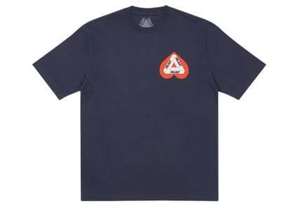 Palace Hearty T Shirt Navy (SS21)の写真