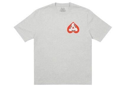 Palace Hearty T Shirt Gray Marl (SS21)の写真