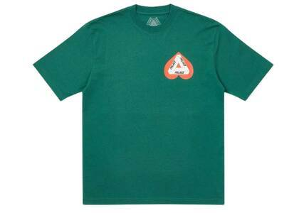Palace Hearty T Shirt Green (SS21)の写真