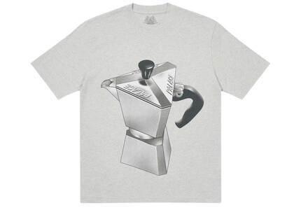 Palace Nein Tea T Shirt Gray Marl (SS21)の写真
