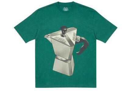 Palace Nein Tea T Shirt Green (SS21)の写真