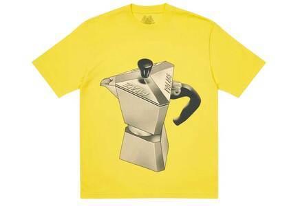 Palace Nein Tea T Shirt Yellow (SS21)の写真