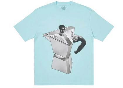 Palace Nein Tea T Shirt Blue (SS21)の写真