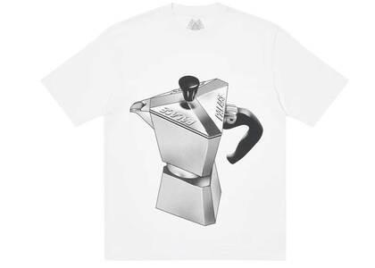 Palace Nein Tea T Shirt White (SS21)の写真