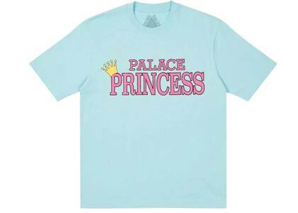 Palace Palace Princess T Shirt Blue (SS21)の写真
