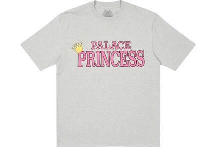 Palace Palace Princess T Shirt Gray Marl (SS21)の写真