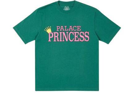 Palace Palace Princess T Shirt Green (SS21)の写真