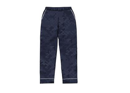 Supreme x Louis Vuitton Jacquard Silk Pajama Pant Blue (SS17)の写真