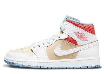 Nike Air Jordan 1 Mid Sesame Womensの写真