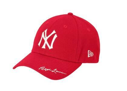 Polo Ralph Lauren × New Era MLB Yankees Cap Redの写真