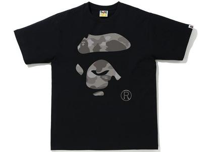 Bape Color Camo Ape Face Tee Black/Gray (SS21)の写真