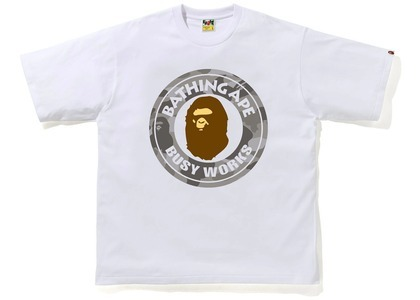 Bape Color Camo Busy Works Relaxed Fit Tee White/Gray (SS21)の写真