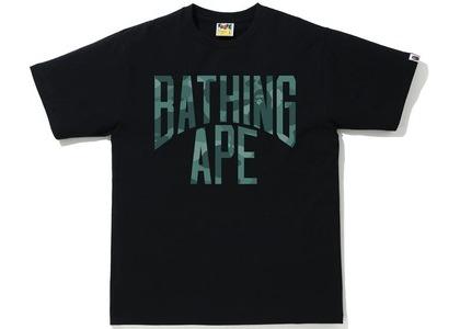 Bape Color Camo NYC Logo Tee Black/Green (SS21)の写真