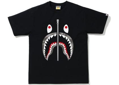 Bape Color Camo Shark Tee Black/Gray (SS21)の写真