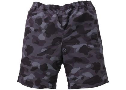 Bape Color Camo Reversible Shorts Burgundy (SS21)の写真