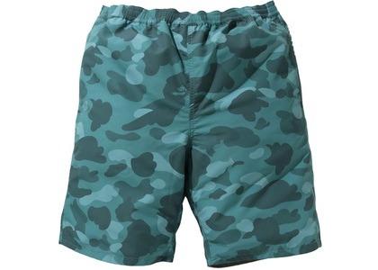 Bape Color Camo Reversible Shorts Green (SS21)の写真
