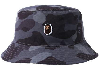 Bape Color Camo One Point Bucket Hat Burgundy (SS21)の写真